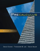 Book Cover for Precalculus 7th