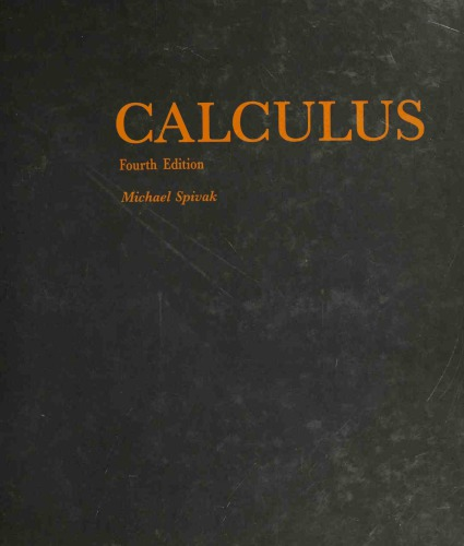 Book Cover for Calculus  4th