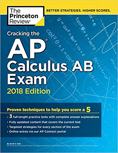 Book Cover for Cracking The AP Calculus AB Exam