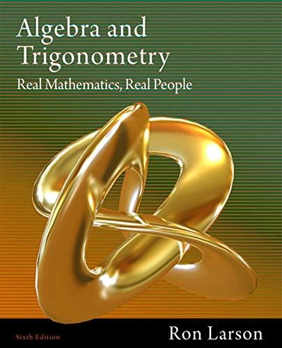 Book Cover for Algebra and Trigono…