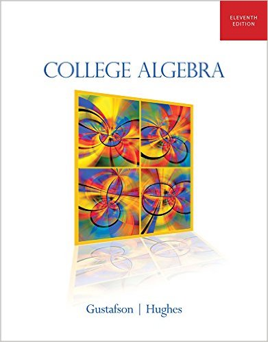 Book Cover for College Algebra