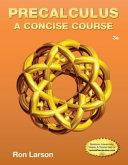 Book Cover for Precalculus: A concise Course 3rd