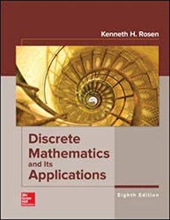 Book Cover for Discrete Mathematics and its Applications (math, calculus)