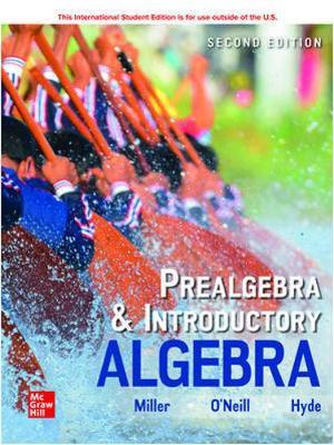 Book Cover for Prealgebra & Introd…