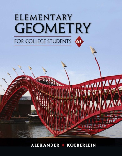 Book Cover for Elementary Geometry for College Students 6th
