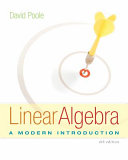 Book Cover for Linear Algebra: A M…
