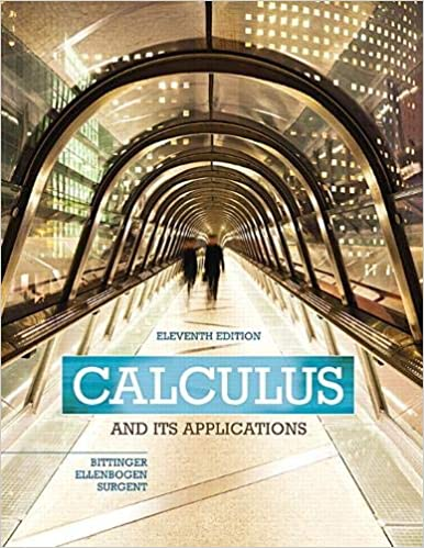 Book Cover for Calculus and its ap…