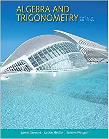 Book Cover for Algebra and Trigonometry