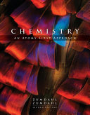 Book Cover for Chemistry An Atoms First Approach 2nd