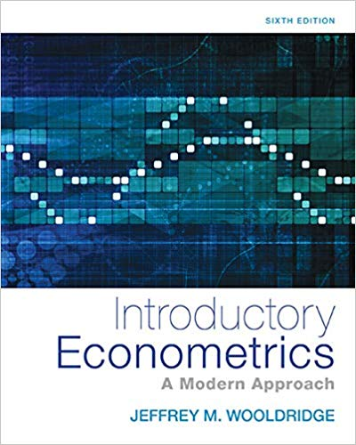 Book Cover for Introductory Econometrics