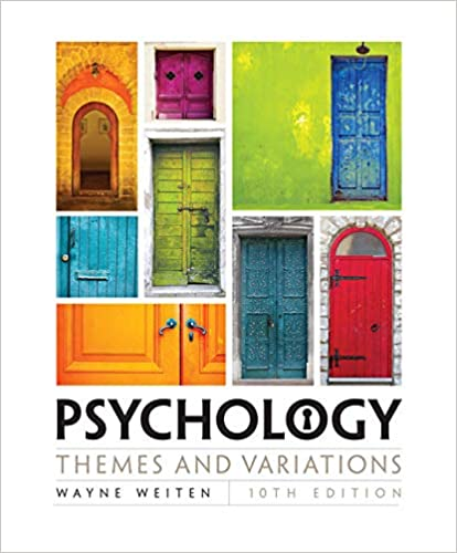 Book Cover for Psychology: Themes …