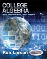 Book Cover for College Algebra: Re…