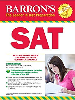 Book Cover for Barron's SAT