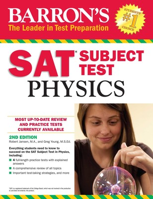 Book Cover for Physics SAT Subject…