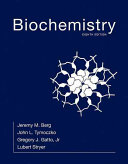 Book Cover for Biochemistry 8th (biology, chemistry)