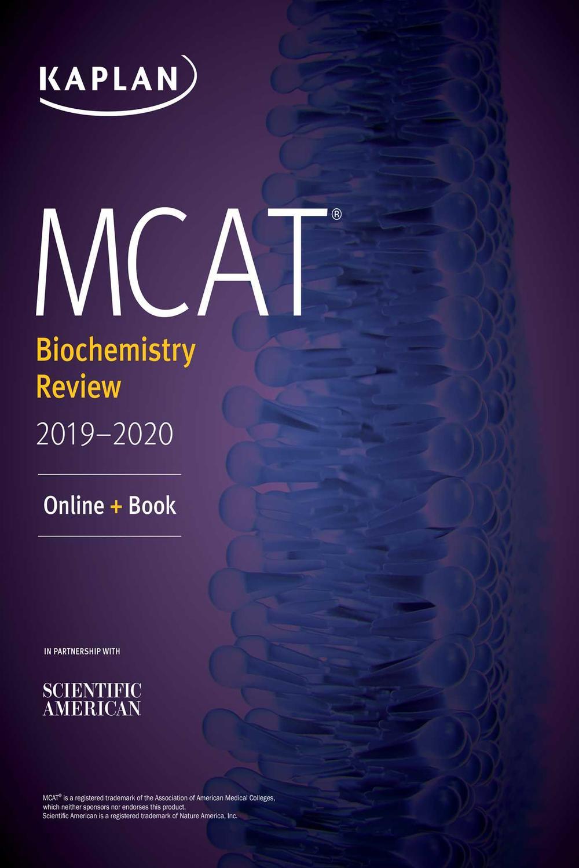 Book Cover for Kaplan MCAT Biochem…