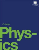 Book Cover for College Physics 1st
