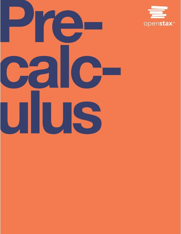 Book Cover for Precalculus 2014