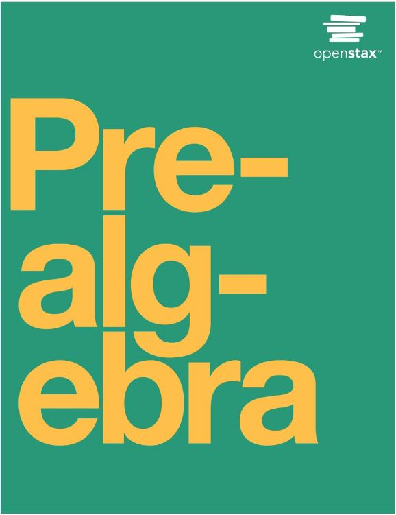 Book Cover for Prealgebra