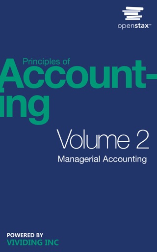 Book Cover for Principles of Accounting Volume 2 : Managerial Accounting
