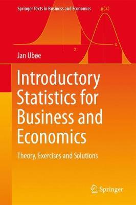 Book Cover for Introductory Statistics for Business and Economics