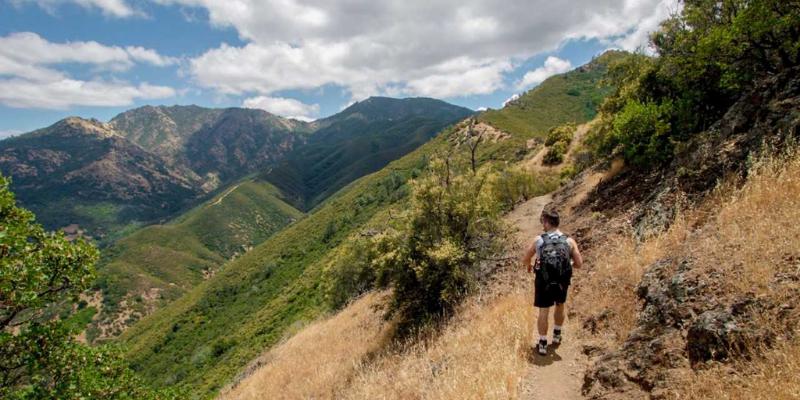 Hiking on Mount Diablo