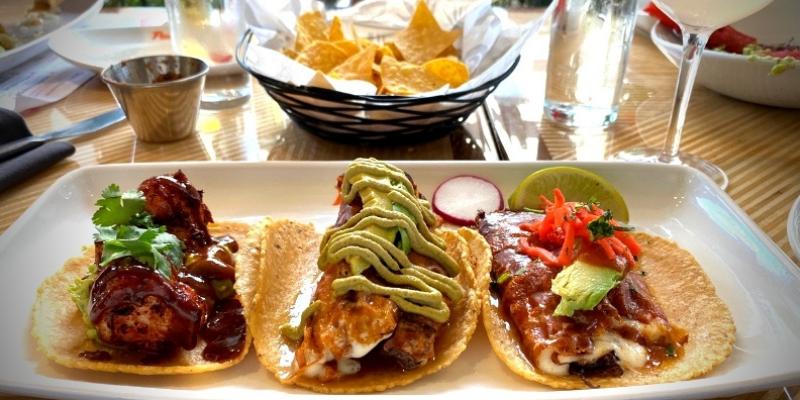 Tacos from Puesto