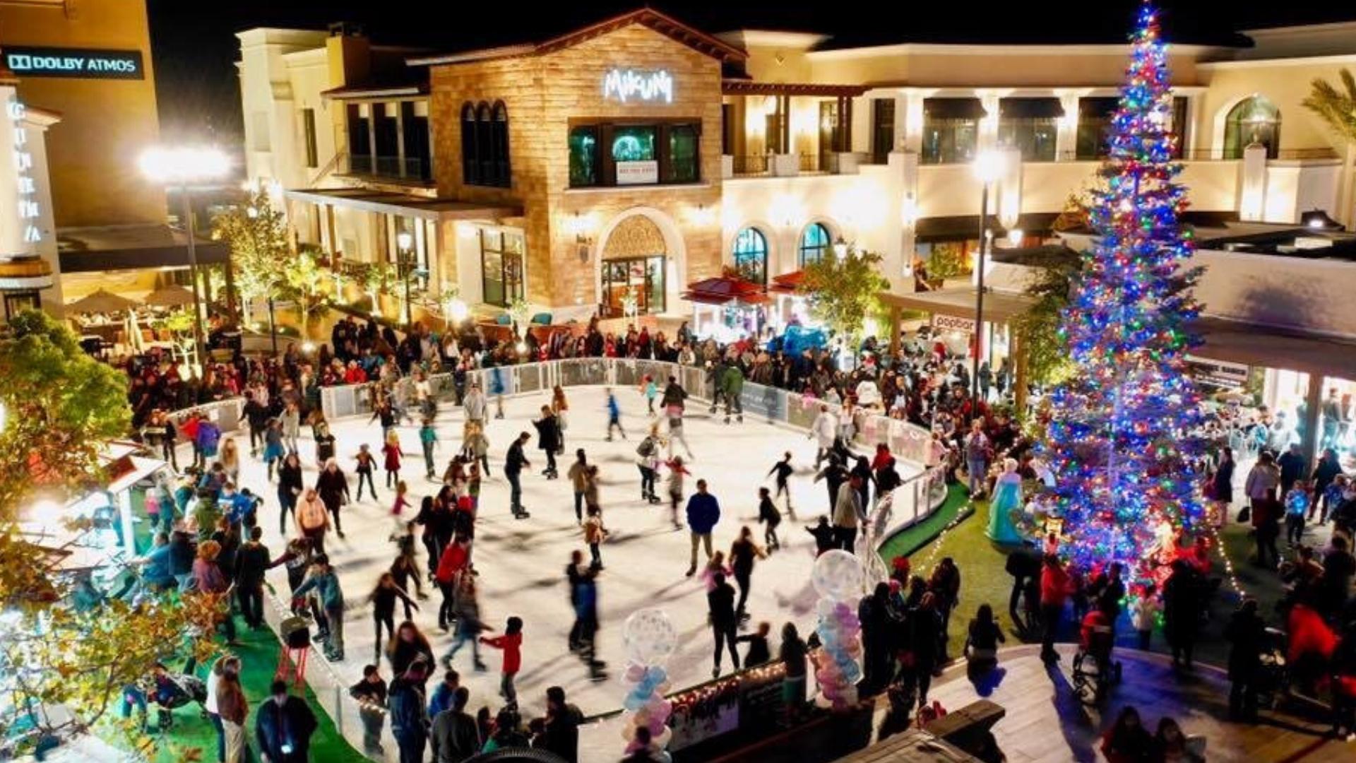 The Veranda Shopping Center Ice RInk