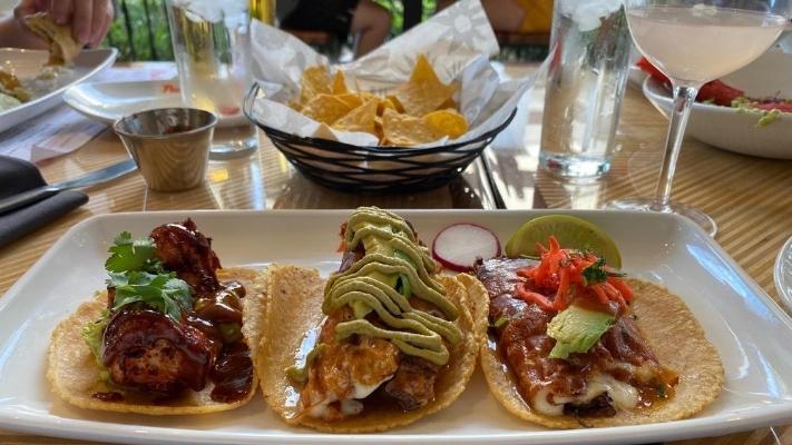 Tacos at Puesto