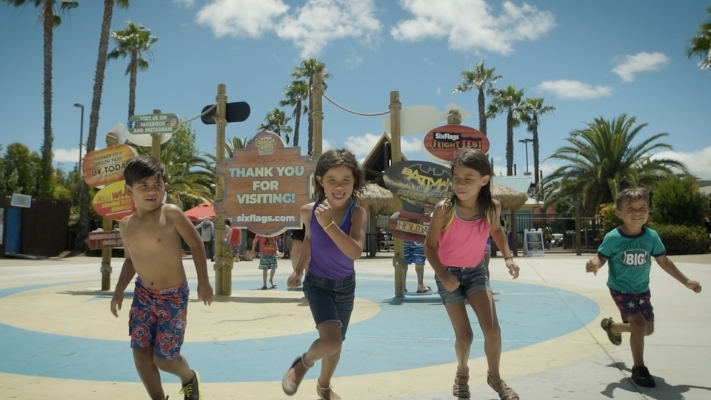 Kids at Hurricane Harbor