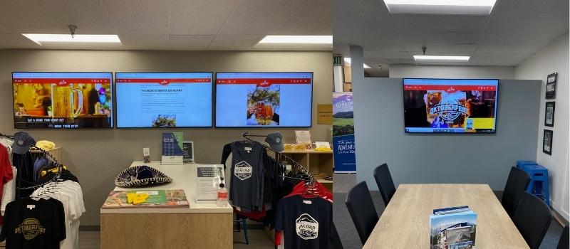 Visitor Center Visuals
