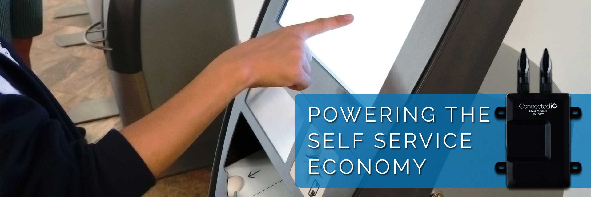 Powering the self service economy
