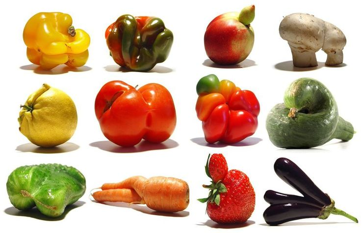 Ugly- by- nature- fruits and vegetables