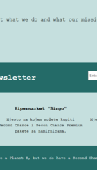 Second Chance web-stranica