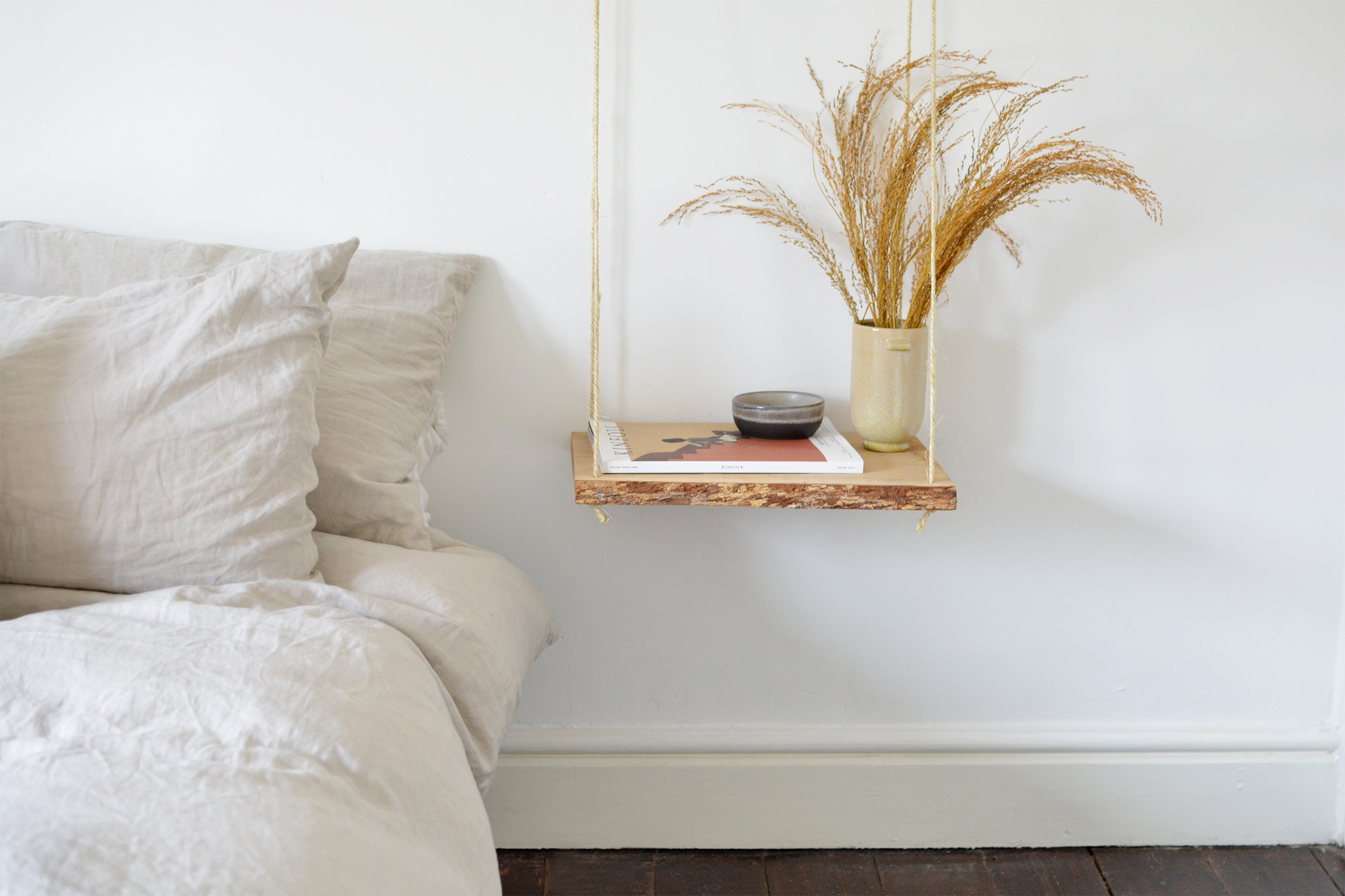 Hanging Nightstand How To Tutorial Hunker