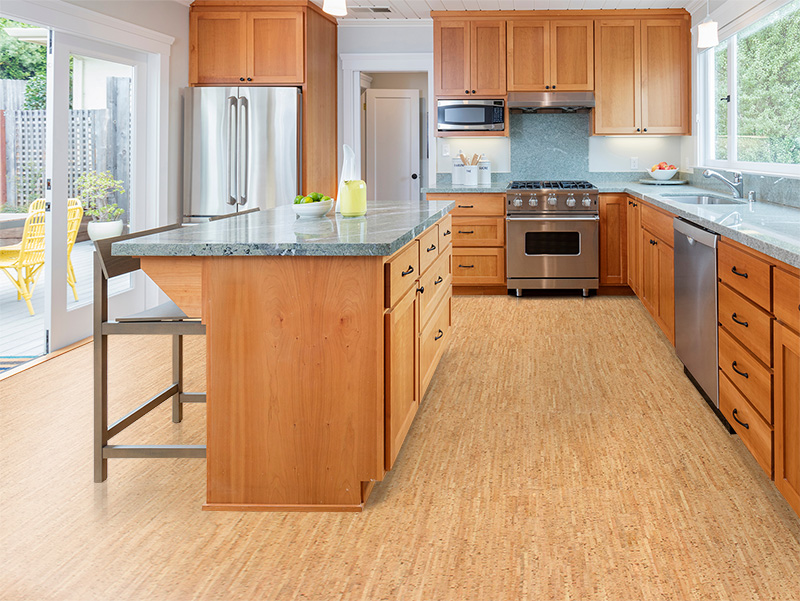 6 Cork Kitchen Flooring Ideas That Will Convince You to Make the Switch   Hunker
