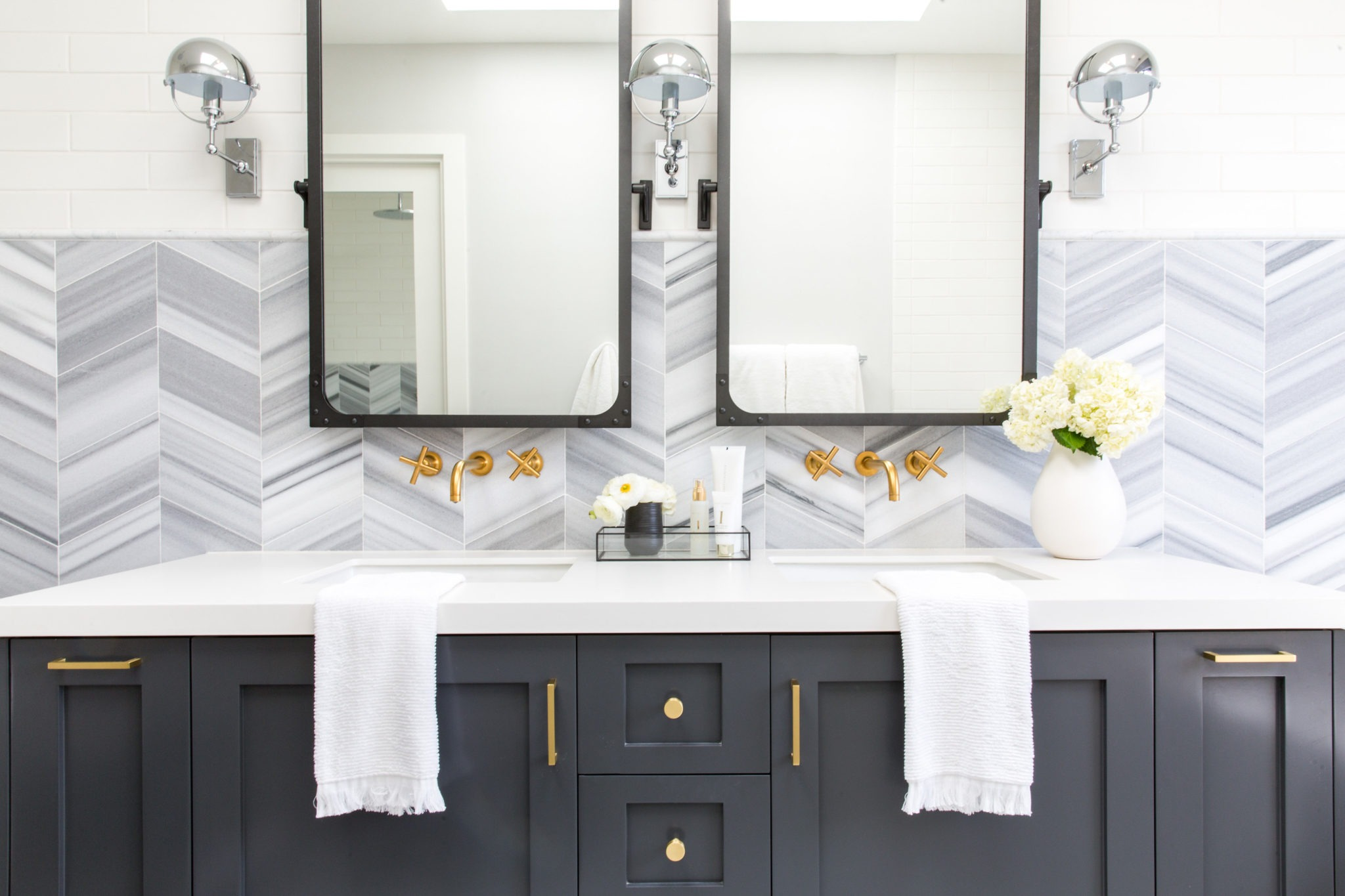 Remodeling? Let Us Suggest These Double Vanity Bathroom Ideas | Hunker