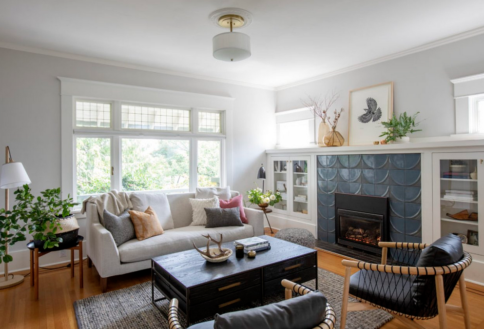 12 Craftsman Living Room Ideas That'll Make Your Home Feel Like a Charming B&B | Hunker