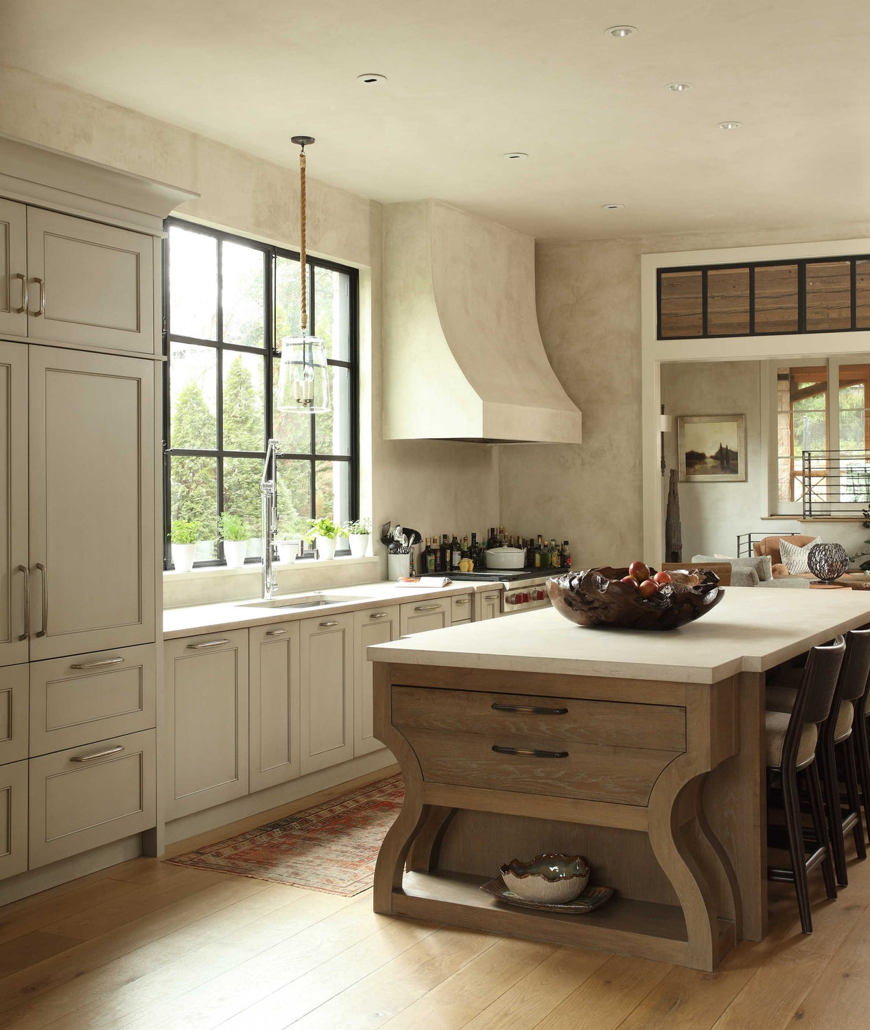 These Cream Kitchens With Wood Floors Got Us Feeling All Dreamy | Hunker