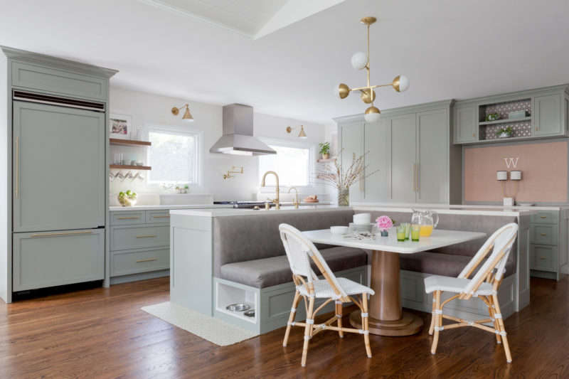 These Kitchen Islands With Bench Seating Beat Barstools | Hunker