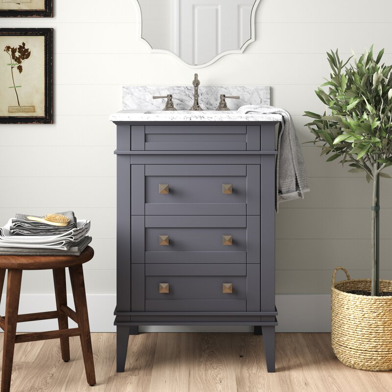 These Small Bathroom Vanities Make a Big Impact | Hunker