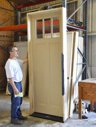 Prehung Doors Make For Easy Construction Hunker