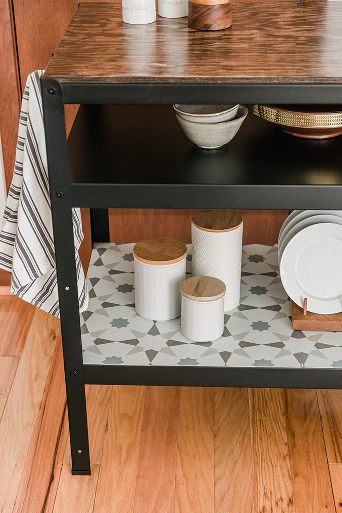 Hack This IKEA Shelf Unit Into a Farmhouse Kitchen Workstation | Hunker
