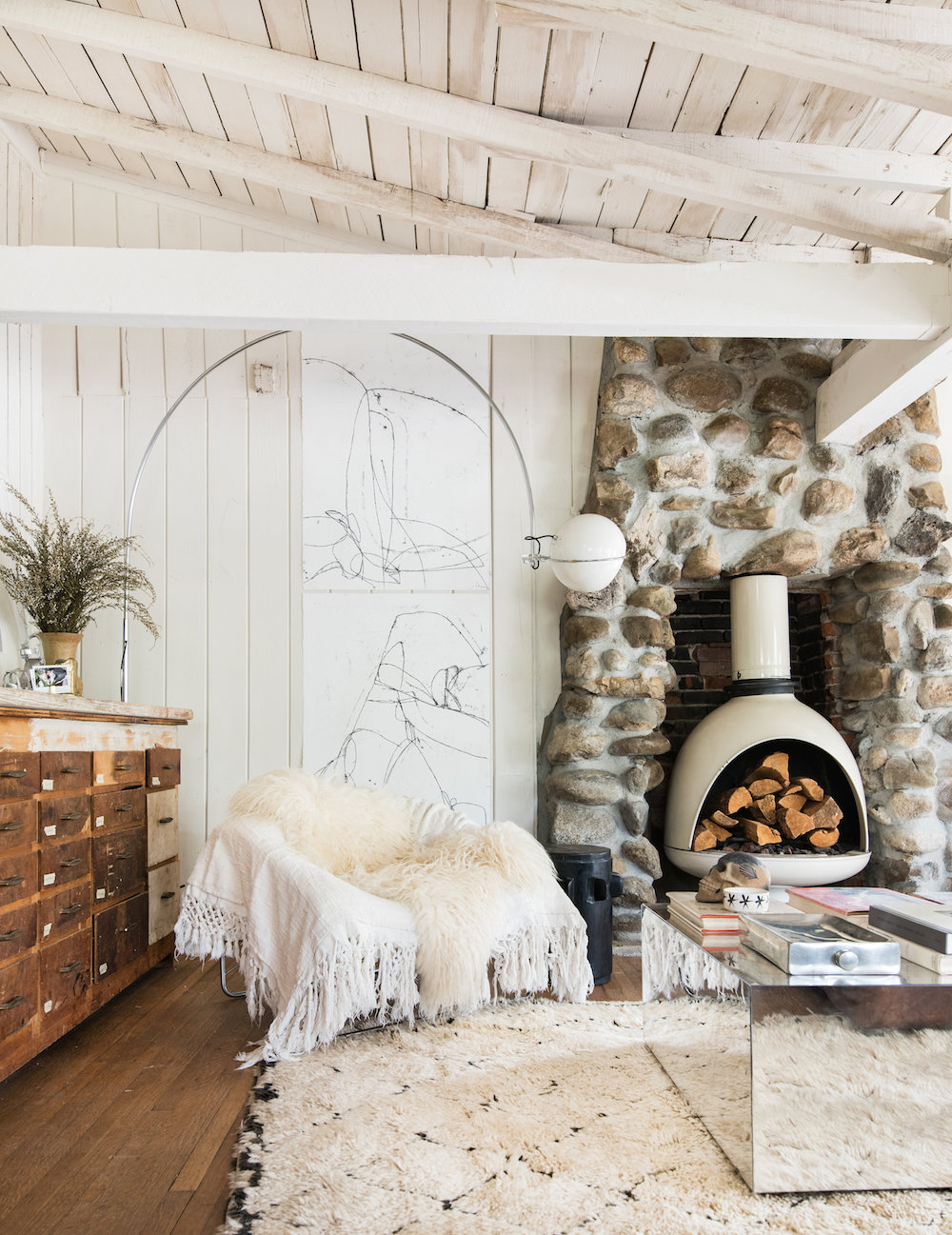 15 Farmhouse Fireplace Ideas That Sizzle Hunker