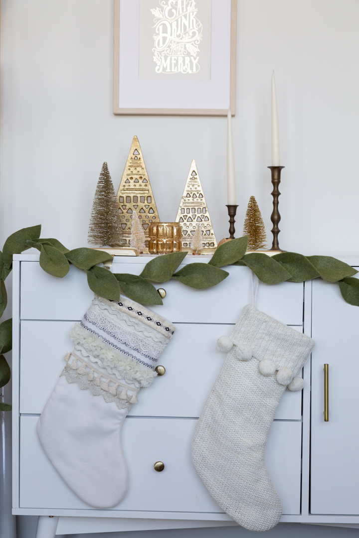 Easy-to-Make Boho-Inspired Holiday Stocking Tutorial