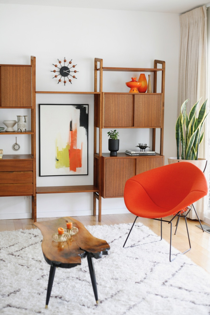 Midcentury Modern Color Palettes: Inspiration and Shopping