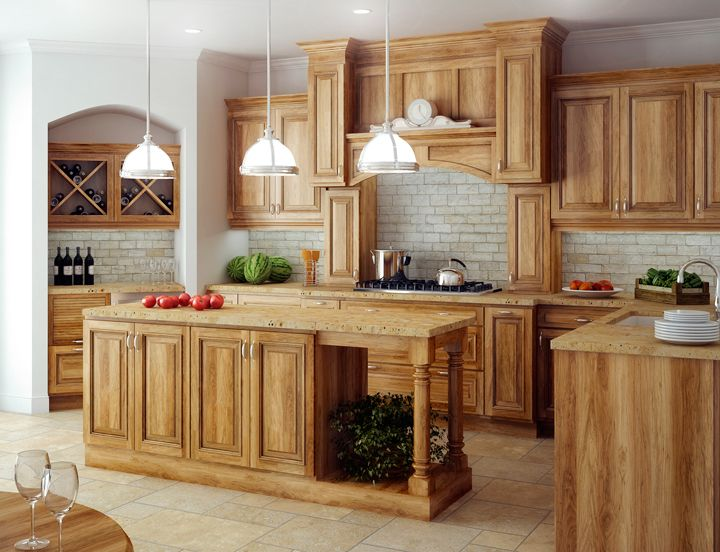 Hickory Cabinets: Ideas and Inspiration | Hunker