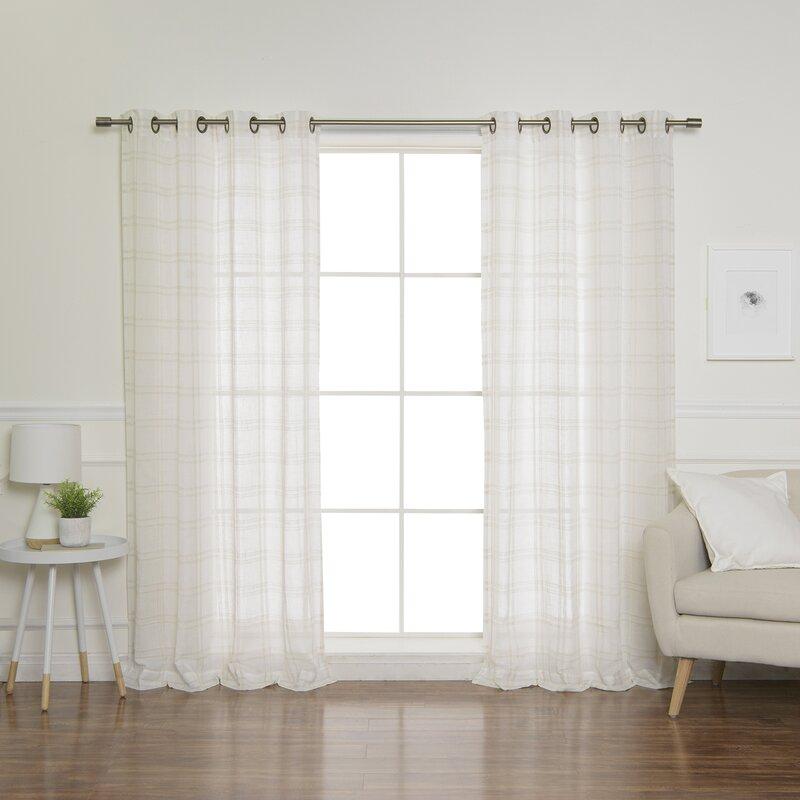 Farmhouse Curtain Ideas And Inspiration Hunker