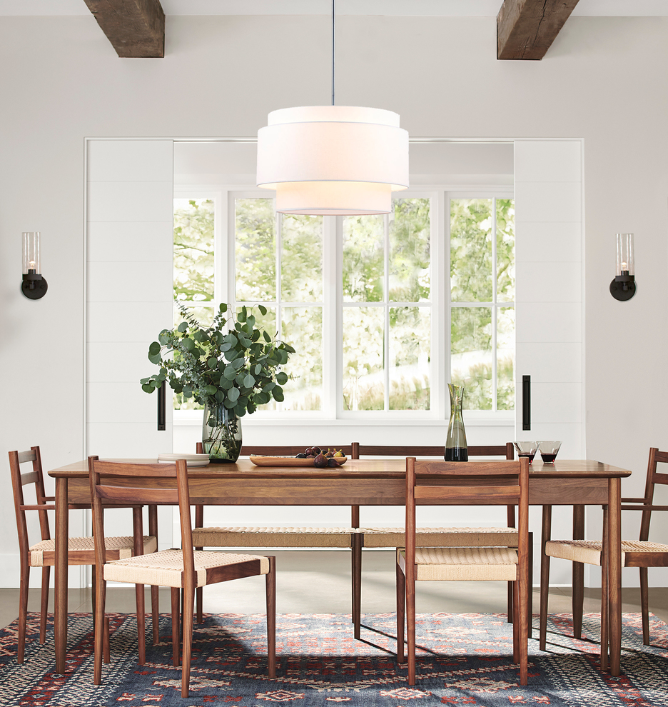 Drum Lighting for the Dining Room That's Guaranteed to Elevate Each and Every Meal | Hunker