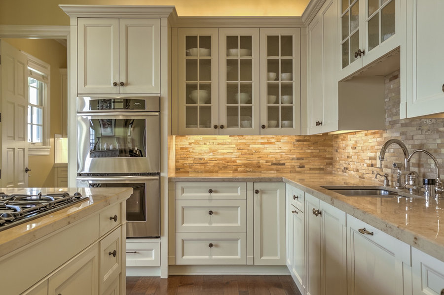 6 Stacked Stone Backsplash Ideas to Give Your Kitchen Rustic Texture   Hunker